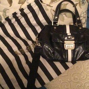 Black/white L.A.M.B purse